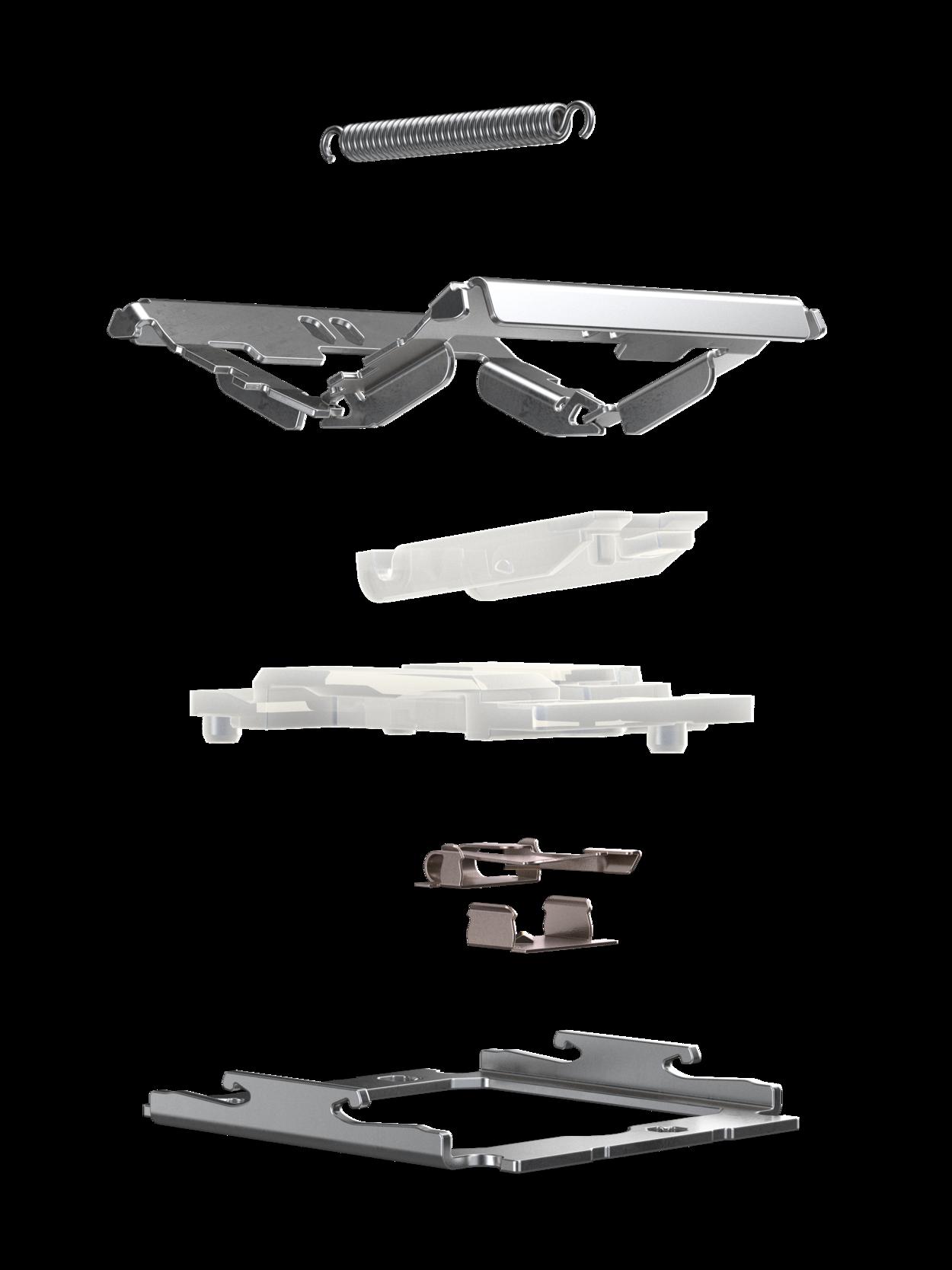 Aufbau eines CHERRY MX Ultra Low Profile